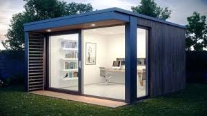 prefabricated garden office. Garden Living Pods This Ultra Stylish Office Pod Was Designed By Award Winning Based Company Space A Leading Manufacturer Of Top Quality Prefabricated