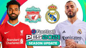 Liverpool v Real Madrid PES 2021 - YouTube