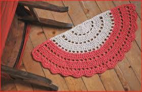 half round rugs 71106 moon rug crochet boho circle floor of semi home design 14