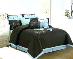 blue and brown comforter set brown and beige comforter sets aqua and brown bedding blue beige blue and brown comforter set