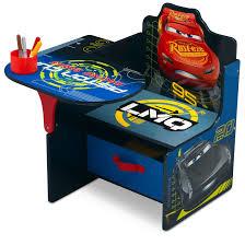 delta children chair desk with storage bin disney pixar cars