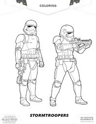 Star Wars Coloring Pages Activity Sheets And More Printables