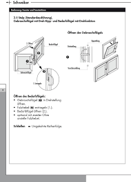 Bedienungs Wartungsanleitung Ce Zeichen Schweiker Fenster