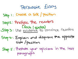 how persuasive essay writing format outline example to   persuasive essay examples 8th grade argumentative how to write introduction types of essays concl how to