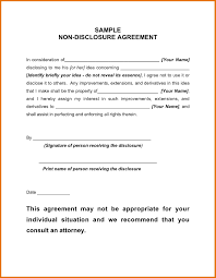 Contract Template For Word Non Disclosure Agreement Template Word Template Business 7