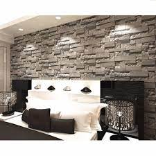 10M/3D Brick Stone Wallpaper Roll ...