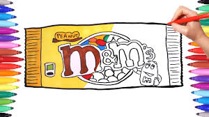 Drawing And Coloring Mms Candy Pack Mms Coloring Pages For Kids