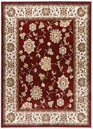 antep rugs shahrazad collectionrecency classy oriental area rug red cream 7 10 x