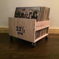 record al crates crate with lettering storage vinyl boxes milk record al crates the listening room vinyl diy
