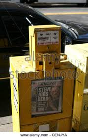 Newspaper Vending Machine For Sale Classy Newspaper Vending Machine For The New York Times In New York Stock