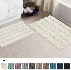 home garden bath mat set 2 piece