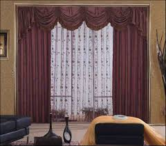 Patterned Curtains For Living Room Living Room Awesome Living Room Window Curtains Designs With