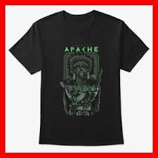 Details About New Game Apache Warrior Funny Black White T Shirt Shirt S M L Xl Dar9 Usa Size