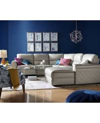 leather sectional couches. Jessi Leather Power Reclining Sectional Sofa Collection, Created For Macy\u0027s Couches