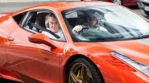 Years before may owned a ferrari, his garage held something far more modest. James May Takes Richard Hammond For A Ride In His Ferrari Youtube