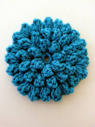 Crochet Flower Pattern Interesting Popcorn Stitch Flower Free Pattern BHooked Crochet