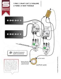 tones seymour duncan part  1 p90 1 phat cat 2 volume 2 tone 3 way toggle