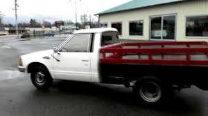 1983 Nissan 1-ton flathbed dually pickup - YouTube