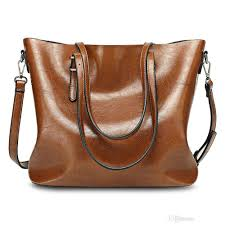 brand designer simple design las large storage solid women leather handbag casual bag tote big messenger ping bag designer bags las handbags