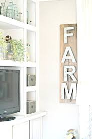 farmhouse art decor easy farmhouse wall decor metal letter sign is 5 minutes decorating cupcakes with