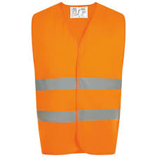 Жилет светоотражающий SECURE PRO, оранжевый неон ...