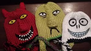 <b>Nightmare</b> Before <b>Christmas</b> Inspired Knitted by GeekyNerdyKnits ...