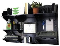 Home office wall desk Two Wall Control 10ofc300 Bb Office Wall Mount Desk Storage And Organization Kit Black Home Office Desks Amazoncom Amazoncom Wall Control 10ofc300 Bb Office Wall Mount Desk Storage And