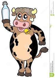 Vache Dessin Lait