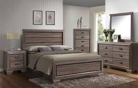 rustic gray bedroom set. Unique Set Lyndon Rustic 6 Pc Weathered Gray Queen Bedroom Set To L