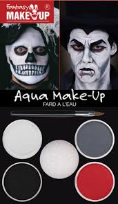 skull dracula make up kit horror ghost zombie skeleton halloween fancy dress set