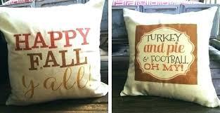 fall pillow covers pillows burlap outdoor cushions