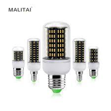 Flux Led Lights Ultra High Luminous Flux 4014smd E27 E14 Corn Led Lamp Bulb