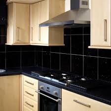 kitchen with black tiles  images about home kitchen design on pinterest backsplash