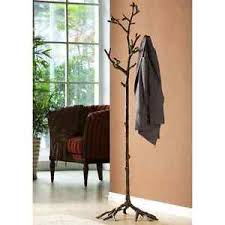 Metal Tree Coat Rack Bird On Branch Lovebird Coat Rack Hat Hall Tree Stand Bronze Finish 20