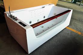 one person hydrotherapy mini indoor hot tub square with bluetooth upgrade one person hot tub77