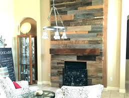distressed fireplace mantel reclaimed wood surround beam