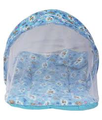 fashion huts blue baby bedding sets with mosquitoes net