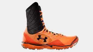 under armour high top running shoes. since introducing the compfit ankle support technology to ua cam highlight trainer, under armour has begun incorporating it across other sports as well. high top running shoes