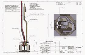 acucraft provided drawing combustion air ducting chimney system