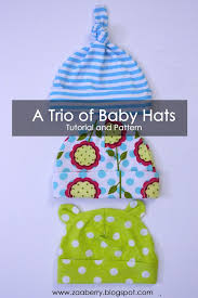 Baby Hat Sewing Pattern