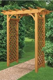garden arbor garden trellis