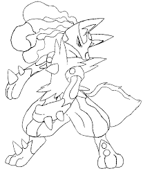 Small Picture Coloring Pages Mega Evolved Pokemon Drawing