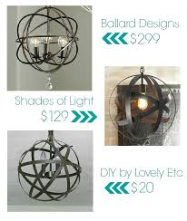 elegant small orb chandelier easy and inexpensive diy orb chandelier lovely etc