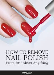 carpet nail. how to get nail polish off just about anything carpet