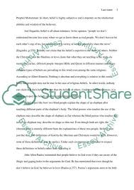 An Extended Definition Of Belief Essay Example Topics And