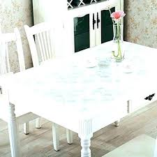 clear plastic table cover clear plastic table cover protector cloth vinyl tablecloth inch round dining waterproof and anti transpa clear plastic