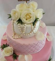 Pink Quilted Wedding Cake - Quality Cake Company & Pink quilted flowers three tier wedding cake - Quality Cake Company Tamworth Adamdwight.com