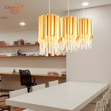 Contemporary Led Light Fixtures Us 72 21 51 Off Modern Chandelier Crystal Hanging Lamp Singal Hanging Light Contemporary Led Chandelier Lighting For Living Dining Room In