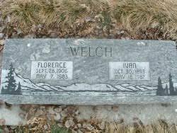 Ivan Welch (1893-1987) - Find A Grave Memorial