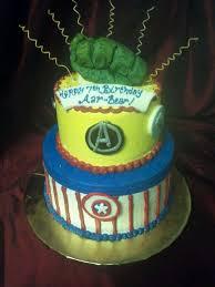 The Avengers Birthday Cake Wedding Academy Creative Really Cool